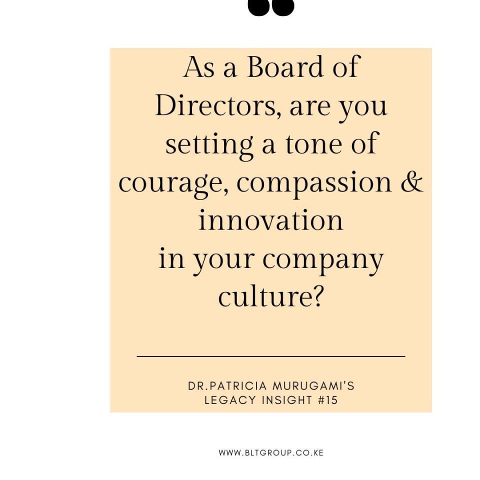 Becoming an Impactful Board Director